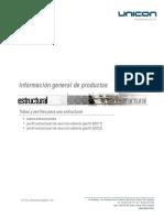 CATALOGO UNICON_Perfiles Estructurales