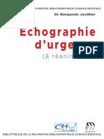 Echographie d Urgence 2018