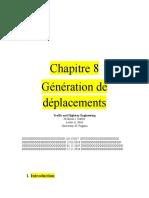 Chapitre 8 Generation
