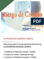riesgo de creditos