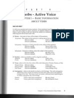Verbs, Active Voice - Basic Information