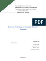Evolución de la Banca en Venezuela