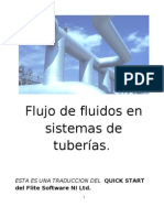 Redes Tuberias Segun FLUIDFLOW 2005