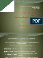 enseñanza y la comunicacion