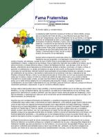 Fama Fraternitas Manifesto