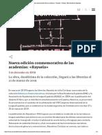 Nueva edición conmemorativa de las academias_ «Rayuela» _ Noticia _ Real Academia Española