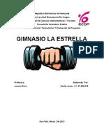 Estudio Viabilidad Económica Financiera de un Gimnasio