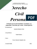 Civil Personas