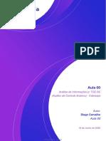 Análise de Informações P_ TCE-SC (Auditor de Controle Externo) - Cebraspe