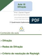 Aula 18 - Circuitos Elétricos e Fotônica - UFABC