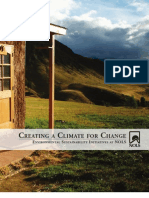 Creating a Climate for Change - Environmental Sustainability Initiatives at NOLS