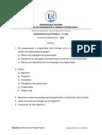 Ficha de Exercícios em Java - EDA