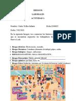 actividad RIESGOS LABORALES- CINTIA TRILLOS