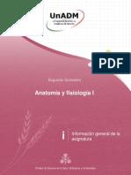 Anatomía Información general NAFI1_IGA