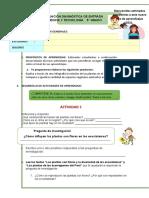 EVALUACIÓN DIAGNÓSTICA DE ENTRADA C.T