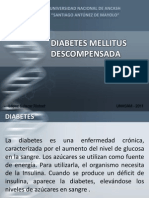 Diabetes Mellitus Descompensada