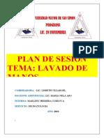 LAVADO DE MANOS SOCIAL MARCO TEORICO 2021