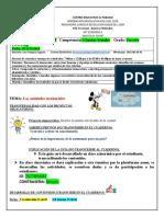 Guía 15 Sociales - Entidades Territoriales Distritos y Municipios