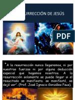 LA RESURRECCION DE JESÚS DE NAZARET