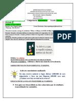 Guía 9-10 Matematicas -La Adición ACTIVIDADES (1)