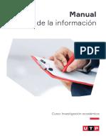 Manual - Manejo de La Información
