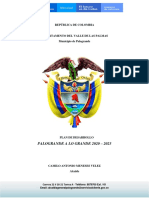 Plan de Desarrollo Palograndealogrande