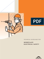 Technical Guide Lines for Workplace Electrical Safety
