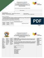 PLANIFICACIÓN CURRICULAR MATRIZ UNIDAD EDUCATIVA SANTA RITA EGB SEMANA 12
