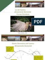 Clases UNJ Caminos - Tema Curvas Horizontales