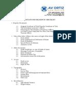 Real Estate Due Diligence_Checklist