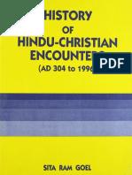 History of Hindu-Christian Encounters