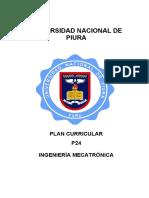 Plan Curricular 054