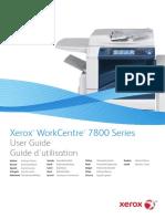 WC7800 руководство полбзователя