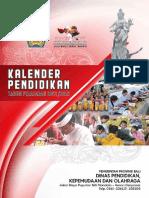 Kalender Pendidikan 2021-2022