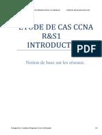 ETUDE DE CAS CCNA R&S1v7 INTRODUCTION