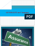 Généralité sur l'Assurance