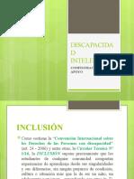 CONFIGURACIONES DE APOYO. DISCAPACIDAD INTELECTUAL