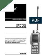 IC-V8 Manual Portugues