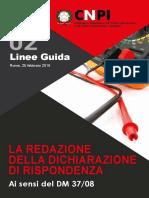 Linee Guida Dichaiazione Rispondenza CNPI