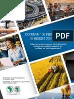 Document de Programme Et de Budget 2020 - 2022 - Version Francaise Finale Compressed