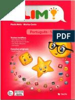 Manual PLIM Português 1.ºano