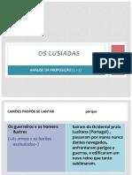 os lusíadas - análise da proposição (blog9 15-16)