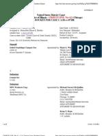 CAMPOS CUE v. LEARJET INC et al Docket