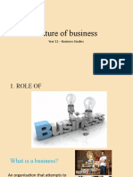 Year 11 Business Studies - Nature of Business (1)