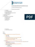 Design Pack for Telecommunications Mobile Passive Infrastrucutre Requirements