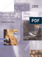 IBM IT Educacion Services Linux Power User PDF