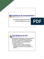 20060505 - Notas de Aula 08 - UFJF - Arquitetura de Computadores