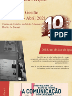 Assembleia Alípio Freire - Centro de Estudos da Mídia Alternativa Barão de Itararé