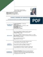 Curriculum DANIELA DE ANDRADE[1]..