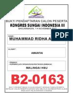 BUKTI PENDAFTARAN B2-0163